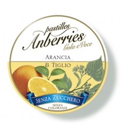 Eurospital Anberries Arancia & Tiglio Senza Zucchero