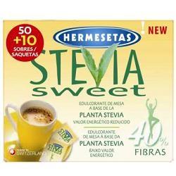 Dompe' Hermesetas Stevia 50+10 Bustine