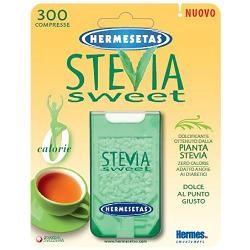 Dompe' Hermesetas Stevia 300 Compresse