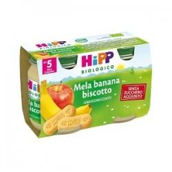 Hipp Biologico Omogeneizzato Mela Banana Biscotto