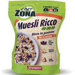 Enervit Enerzona Muesli Ricco 40-30-30 230 Grammi
