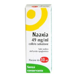 Laboratoires Thea Naaxia Collirio 10 ml 4,9% Senza Conservante