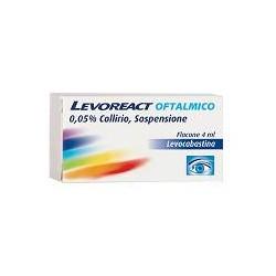 Johnson & Johnson Levoreact Oftalmico Collirio 4 Ml 0,5 Mg/ml