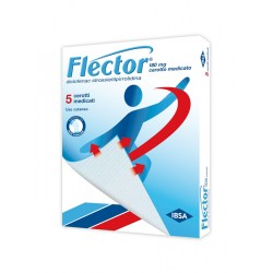 Ibsa Flector 5 Cerotti Medicati 180 mg