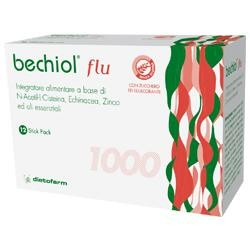 Dietofarm Bechiol Flu 12 Bustine Stick Pack