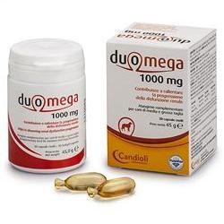 Candioli Duomega 1000 mg Integratore per Cani 30 capsule molli