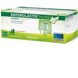 Sofar Enterolactis 12 Flaconcini 10 ml Integratore di Fermenti Lattici