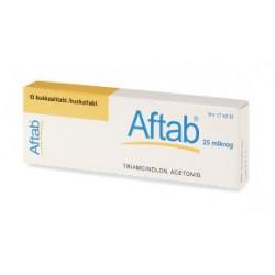 Rottapharm Aftab 10 Compresse Adesive 0,025 mg