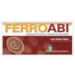 Abi Pharmaceutical Ferroabi 20 Confetti Orosolubili Al Cioccolato Blister 30 G