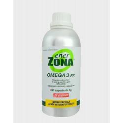 Enervit Enerzona Omega 3 Rx 240 Capsule Integratore per Colesterolo