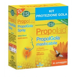 Esi Propolgola Kit Spray Forte 20 ml + 30 Tavolette Menta