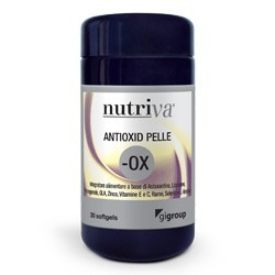 Cabassi & Giuriati Nutriva Antioxid Pelle 30 Capsule Softgel
