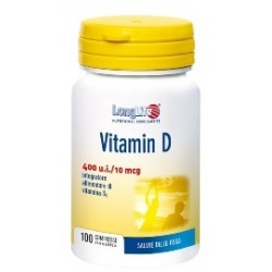 Longlife Vitamina D3 400ui 100 Compresse