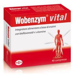 Named Wobenzym Vital 40 compresse integratore per le ossa
