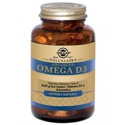 Solgar Advanced Omega D3 120 Perle Softgels Integratore per Colesterolo