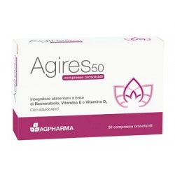 Ag Pharma Agires 50 30 Compresse Orosolubili