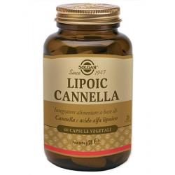 Solgar Lipoic Cannella 60 Capsule Vegetali per Metabolismo