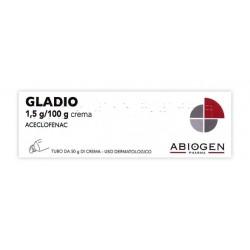 Abiogen Gladio Crema Dermatologica 50 G 1,5 G/100 G