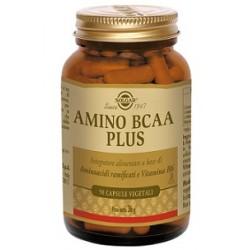 Solgar Amino Bcaa Plus 50 Capsule Integratore di Aminoacidi