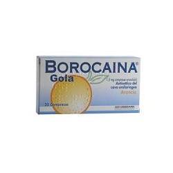 Alfasigma Borocaina Gola 20 Compresse Orosolubili 1,5 Mg Arancia