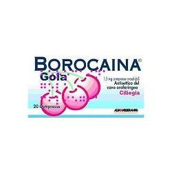 Alfasigma Borocaina Gola 20 Compresse Orosolubili 1,5 Mg Ciliegia
