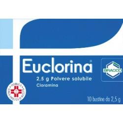 Dompé Euclorina 10 Buste Polvere 2,5 g