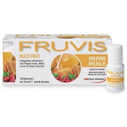 Pool Pharma Fruvis Multi-Fruit Pappa Reale 12 Flaconcini 10 ml