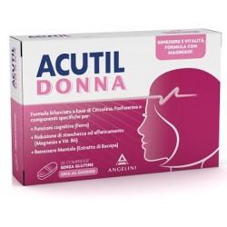 Angelini Acutil Donna 20 Compresse Integratore per Benessere Femminile