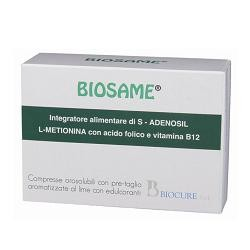 Biocure Integratore Alimentare Di S-adenosil L-metionina Con Acido Folico E Vitamina B12