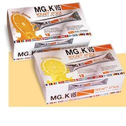 Pool Pharma Mgk Vis Pocket Stick Arancia 12 Bustine
