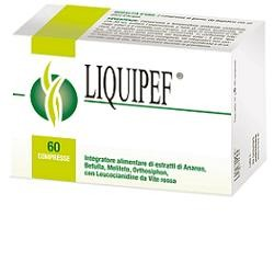 Natural Bradel Liquipef 60 Compresse Cellulite