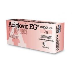 Eg Aciclovir Crema 3 g 5%