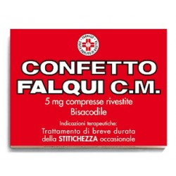 Confetto Falqui Cm 20 Compresse Rivestite 5 mg