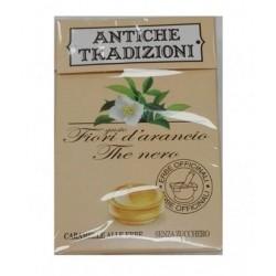 Perfetti Antiche Tradizioni Caramelle Senza Zucchero Fiori D'arancio The Nero