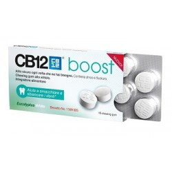Meda Cb12 Boost Eucalyptus White 10 Chewing Gum