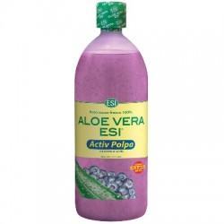 Esi Aloe Vera Activ Polpa Mirtillo 1 Litro + Stick Labbra Omaggio
