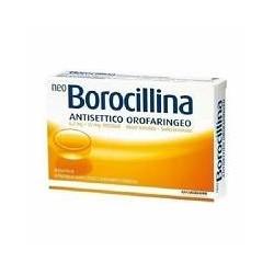 Alfasigma Neoborocillina Antisettico Orofaringeo 20 Pastiglie Arancia