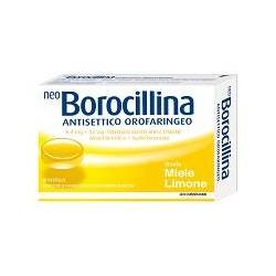 Alfasigma Neoborocillina Antisettico Orofaringeo 20 Pastiglie Miele Limone