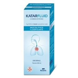 Aurobindo Katarfluid Soluzione Orale 200 ml 5 g/100 ml