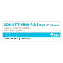 Fidia Connettivina Plus Crema Dermatologica Piaghe e Ustioni 25 g