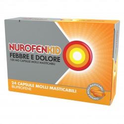 Reckitt Nurofenkid Febbre Dolore 24 Capsule 100 mg