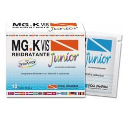 Pool Pharma Mgk Vis Reidratante Junior 10 Buste Integratore di Sali Minerali
