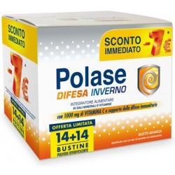 Pfizer Polase Difesa Inverno 14 + 14 Buste PROMO per Difese Immunitarie