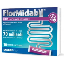 Sandoz Flormidabil Ultra equilibrio flora intestinale con Vitamina B 10 bustine