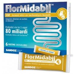Sandoz Flormidabil Stop equilibrio flora intestinale 6 bustine
