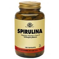 Solgar Spirulina 100 Tavolette Integratore Ricostituente