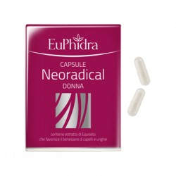 Zeta Farmaceutici Euphidra Neoradical Donna 40 Capsule 17,2 g