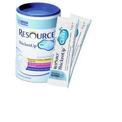 Nestlé Resource ThickenUp Clear idratazione sicura ed efficace 125g