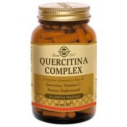 Solgar Quercitina Complex 50 Capsule Vegetali per Difese Immunitarie