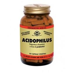 Solgar Acidophilus 50 Capsule per Alterazione Flora Batterica